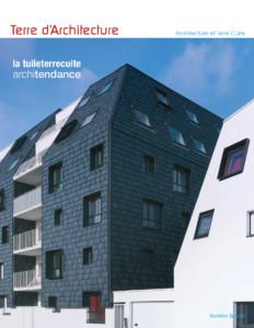Terre d'architecture 12, publié par la FFTB, Fédération Française des Tuiles et Briques
