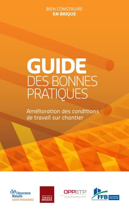 Guide des bonnes pratiques sur un chantier, édité par la FFTB