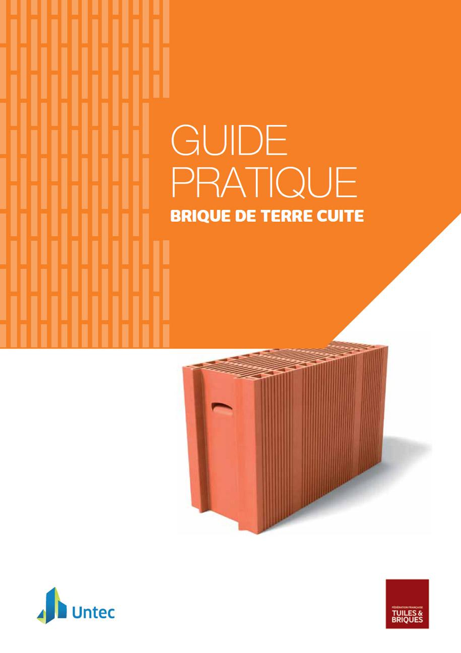Guide pratique, brique de terre cuite, édité par la FFTB
